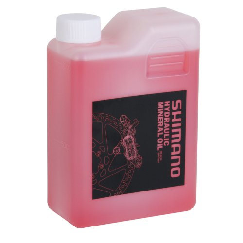 (SHIMANO Oil for Disc Brakes One Color, 1000cc)