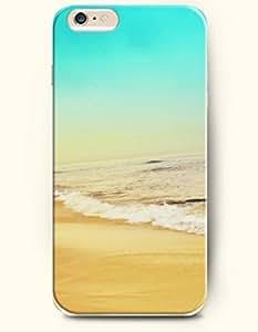 diy phone caseiPhone 6 Case 4.7 Inches Sea and Beach - Hard Back Plastic Phone Cover SevenArc Authenticdiy phone case