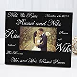 Personalized Wedding Picture Frames - Mr and Mrs Collection