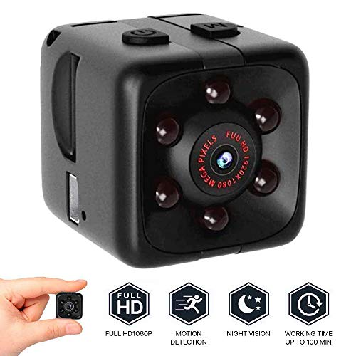 oil-LIKIO Camera Mini Full HD 1080P DV Action Security Motion Cam Night Vision Camera| Perfect Indoor Covert Security Camera for Home and Office | Hidden Spy Cam