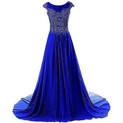 Royal Blue Long Prom Dresses: Amazon.com