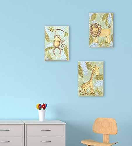 The Kids Room by Stupell Giraffe in the Jungle Rectangle