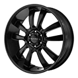 2011 cadillac srx rims - One KMC Satin Black KM673 Skitch Wheel/Rim - 18x8 - 6x120 - +15mm