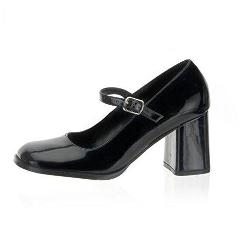 Heels-Perfect - Zapatos de vestir para mujer negro negro negro - Schwarz (Lack Schwarz)