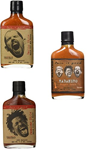 Pain Is Good Hot Sauce Bundle of 3 Sauces