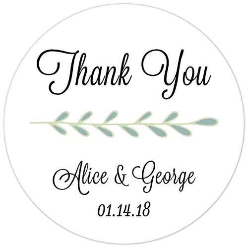 amazon com wedding shower stickers simple thank you stickers