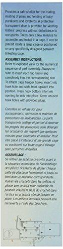 Review Parakeet Nest Box, Black