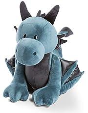 NICI 46717 Staande Knuffel Knuffel Dragon Ivar 45cm, Blauw