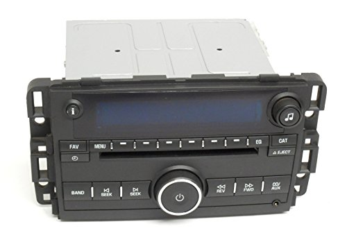 1 Factory Radio AM FM CD Player With Aux Compatible With Chevy 2007-08 Monte Carlo and Impala 25887147