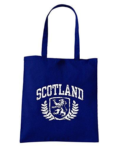 T-Shirtshock - Bolsa para la compra TSTEM0121 scotland Azul Marino