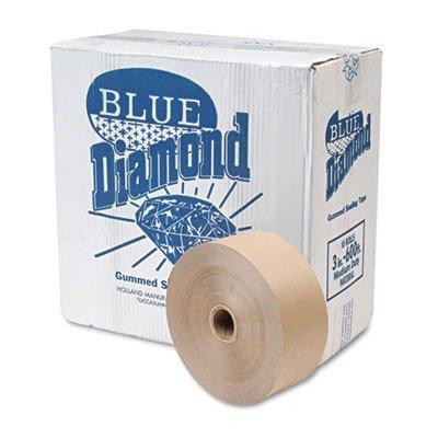 United Facility Supply 2800 Gummed Kraft sealing tape, non-reinforced, 3 x 600 ft, 10 rolls per carton