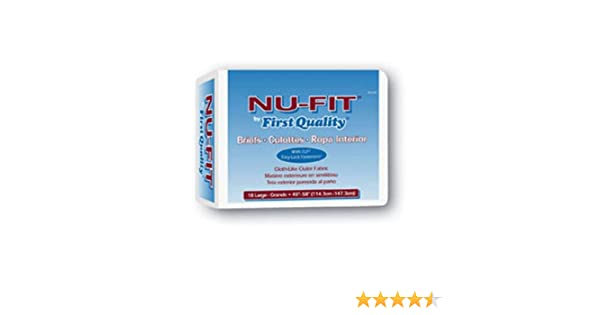 Amazon.com: First Quality Nu-Fit Adult Briefs - First Quality Adult Brief Medium NU-012/1 - Case of 96 - FQPNU0121FQPNU0121_cs: Health & Personal Care