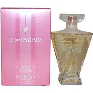 champs elysees by guerlain for women eau de toilette spray 3 4 ounces champs. Black Bedroom Furniture Sets. Home Design Ideas