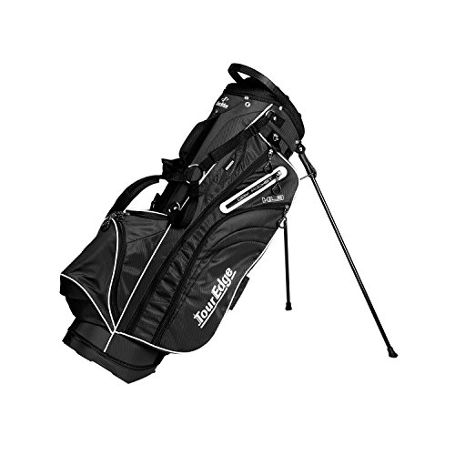 Tour Edge Men's HL3 Stand Bag, Black - Edge Stand Bag
