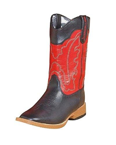 - Dbl Barrel 4412001-06 Toddler Zip Trailboss Boot44; Black - Size 6