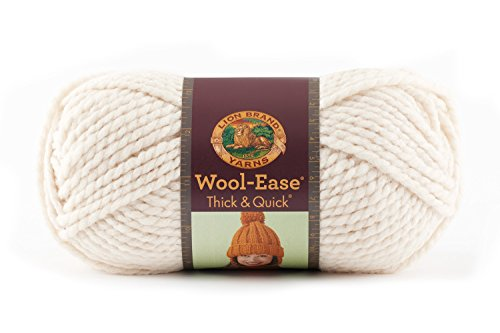 Lion  640-099 Wool-Ease Thick & Quick Yarn , 97 Meters, (Bulky Wool)