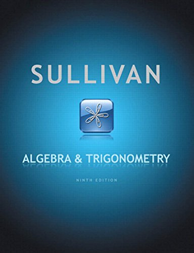 Download Algebra and Trigonometry (9th Edition) Pdf