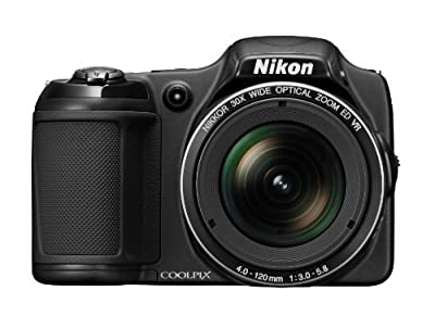 Nikon COOLPIX L820 16 MP Digital Camera with 30x Zoom