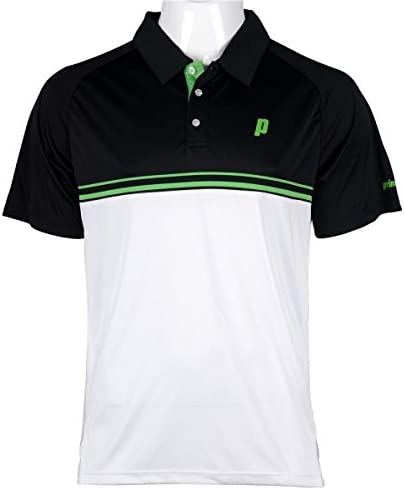 Prince Stripe Polo, Hombre, Negro/Gris/Verde, XS/S: Amazon.es ...