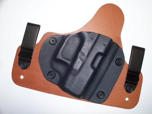Hybrid Kydex Inside Waistband IWB Concealed Carry Holster for Hi Point C9 380 45 (Concealed Carry Holster For Hi Point 45)