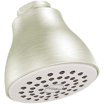 Moen 6300BN One-Function Easy Clean XL Shower Head, Brushed Nickel