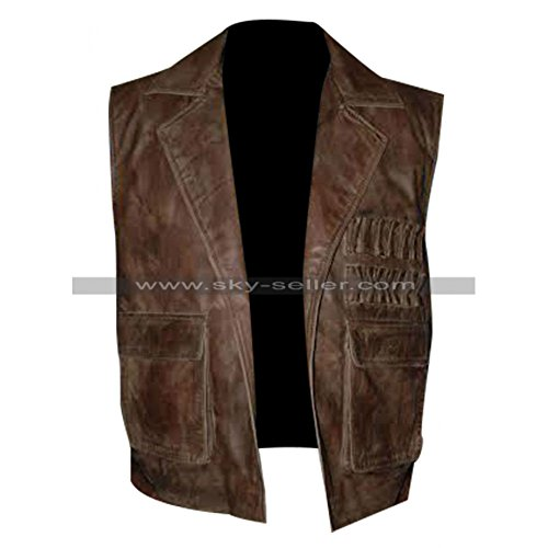 Chaqueta marrón SuperSkySeller para Chaleco hombre T0gnSq0wd8