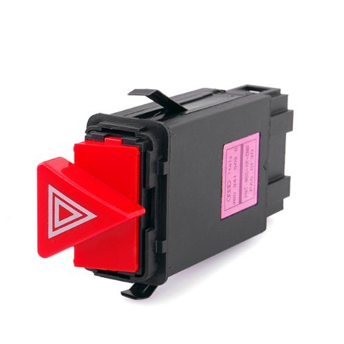 LOOYUAN Hazard Warning Light Flasher Switch Emergency Fit for Audi A6 A6 Quattro ZSB0251