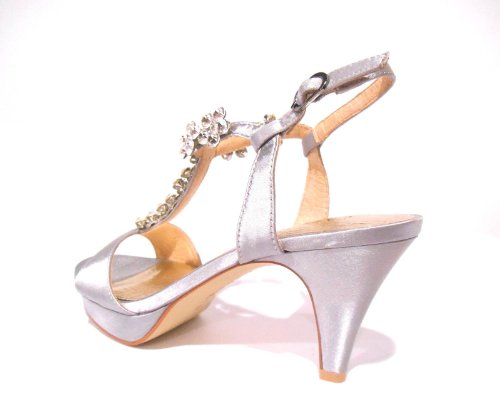 Sandalo Donna Grigio SLH903 - Cafè Noir, 37