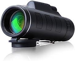 CompraFun Telescopio Monocular 40X60 con Enfoque Dual Zoom Óptico Impermeable Visión Partido Fútbol Pájaros Turismo Caza...