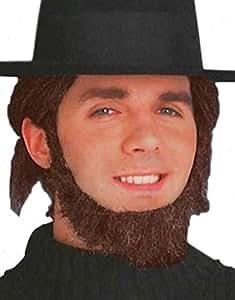 Beard - Amish Brown (accesorio de disfraz)