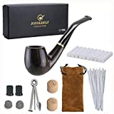 Best Tobacco Pipes - Joyoldelf Wooden Tobacco Smoking Pipe, Pear Wood Pipe Review