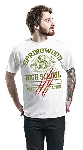nuevo On High Springwood blanco Nightmare oficial Street para School Camisa hombres Elm 76q50154w