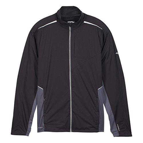 Saucony Men's Nomad Jacket, Medium, Black