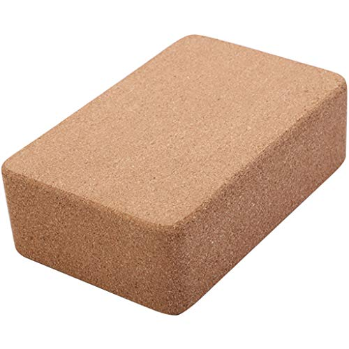 Yoga Block Yoga Brick Cork Support Block Pilates Home Exercise Fitness Workout