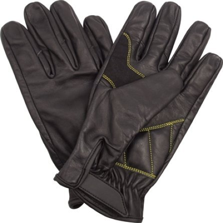 Rothco Leather Military Shooters Glove, Black, Large