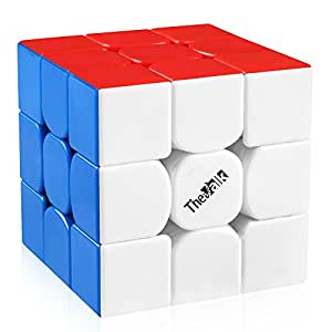 D-FantiX QiYi The Valk 3 Speed Cube 3x3 Stickerless Magic Cube 3x3x3 Puzzle Toy