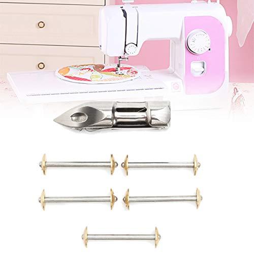 (CocinaCo 5Pcs Bobbins & Shuttle Bobbin Case for Singer 27,28,127,128 Treadle Sewing Replacement Accessories)