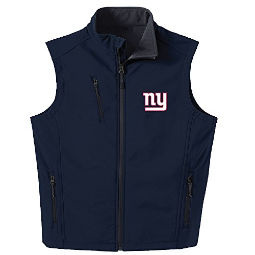 Dunbrooke Apparel NFL New York Giants Men's Archer Workwear Vest, X-Large, Navy