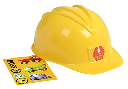 Aeromax Jr. Construction Helmet with Stickers]()