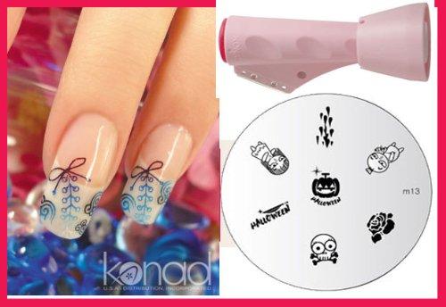 Konad 2 Way Combo Stamper +Scraper + Image