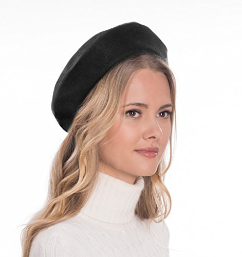 Eric Javits Luxury Fashion Designer Women's Headwear Hat - Betty - Black by Eric Javits (Image #1)