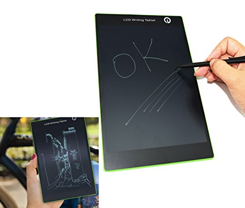 9.7'' LCD Writing Tablet, Best Paperless Digital Writing Drawing Tool for Adults, Kids And Children at Home, School or Work Office Easy Magic Eraser Easy to use for All Ages by ACJENY