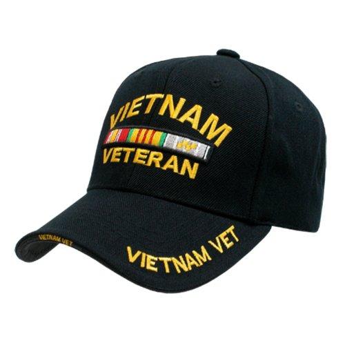Rothco Deluxe Low Profile Vietnam Veteran Insignia Cap Military Vet (Cap Insignia Veteran)