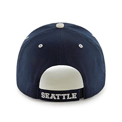 MLB Seattle Mariners 47 Brand Adjustable Frost MVP Hat, Navy, One Size