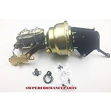 "74-86 Jeep CJ 8"" Dual Power Brake Booster Master Cylinder Prop Valve Disc/Drum"