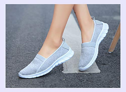 Walking Grey Comfortable Summer Light Women Sneakers Shoes Breathable Shoes XINGMU Outdoor Mesh Sport Female Lady Casual xB1P6qw