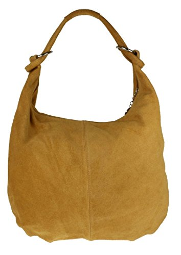 Tan Girly Bag Shoulder Italian Girly HandBags Leather Suede Hobo HandBags zSx8wzqpdT