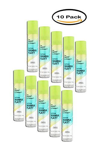 Imposters Fragrance (PACK OF 10 - Designer Imposters Wanna Play? Fragrance Deodorant Body Spray, 2.5 oz)
