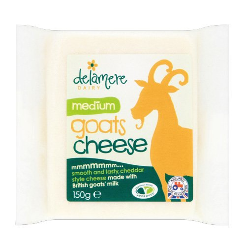 Goat Cheddar Cheese - Delamere Goat Cheddar (5.3 ounce)