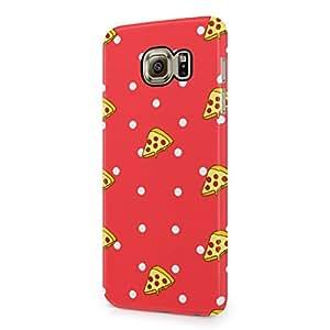 Polka Dots Pizza Pattern Hard Plastic Samsung Galaxy S6 Phone Case Cover
